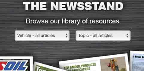 Amsoil News Stand