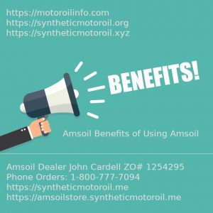 The Benefits of Using Amsoil