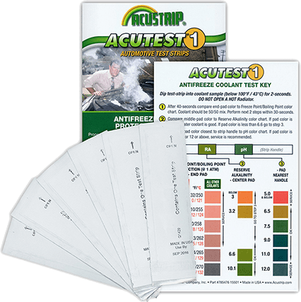 Antifreeze Test Strips G1146