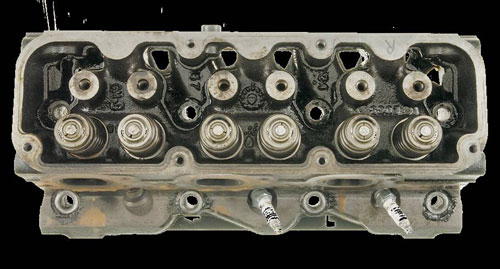 Cylinder Heads Post-Cleanup