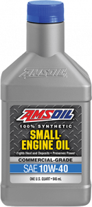 Amsoil 10W-40 Synthetic Small Engine Oil ASF