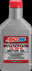 Amsoil 10W-40 Synthetic ATV/UTV Engine Oil