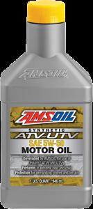 Amsoil 5W-50 Synthetic ATV/UTV Engine Oil AUV50
