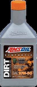 Amsoil 10W-50 Synthetic Dirt Bike Oil DB50