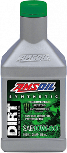 Amsoil 10W-60 Synthetic Dirt Bike Oil DB60