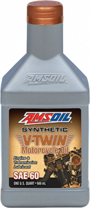Amsoil SAE 60 Synthetic V-Twin Motorcycle Oil MCS