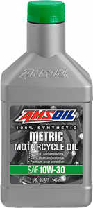 10W-30 Synthetic Metric Motorcycle Oil MCT