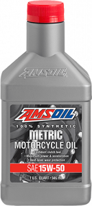 Amsoil 15W-50 Synthetic Metric Motorcycle Oil MFF