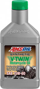 Amsoil 15W-60 Synthetic V-Twin Motorcycle Oil MSV