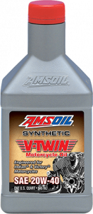 Amsoil 20W-40 Synthetic V-Twin Motorcycle Oil MVI