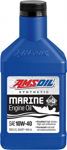 AMSOIL 10W-40 Synthetic Marine Engine Oil WCF