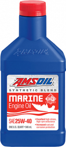 25W-40 Synthetic Blend Marine Engine Oil WCM