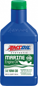 AMSOIL 10W-30 Synthetic Marine Engine Oil WCT