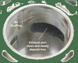 Cylinder & Exhaust Port Evinrude E-TEC