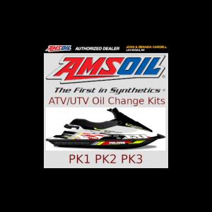 AMSOIL ATV/UTV Kits PK1 PK2 PK3