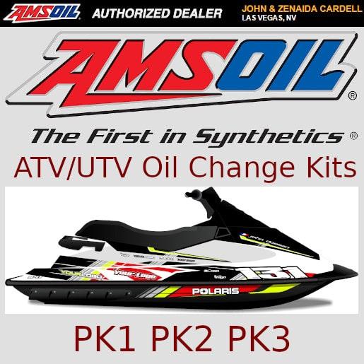 Amsoil ATV/UTV Oil Change Kits PK1 PK2 PK3