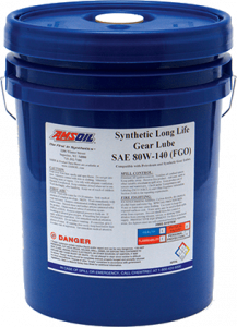 Amsoil 80W-140 Long Life Synthetic Gear Lube FGO