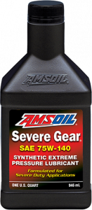 Amsoil SEVERE GEAR® 75W-140 SVO