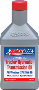 Amsoil Synthetic Tractor Hydraulic/Transmission Oil SAE 5W-30 ATH