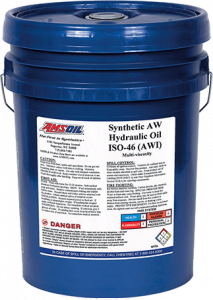 Amsoil Synthetic Anti-Wear Hydraulic Oil - ISO 46 AWI