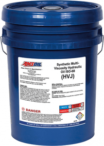Amsoil Synthetic Multi-Viscosity Hydraulic Oil - ISO 68 HVJ