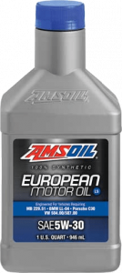SAE 5W-30 LS Synthetic European Motor Oil AEL