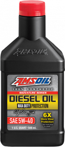 Signature Series Max-Duty Synthetic Diesel Oil 5W-40 DEO