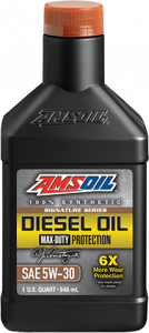 Signature Series Max-Duty Synthetic Diesel Oil 5W-30 DHD