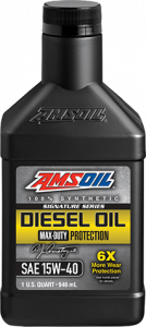 Signature Series Max-Duty Synthetic Diesel Oil 15W-40 DME