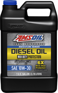 Signature Series Max-Duty Synthetic Diesel Oil 10W-30 DTT