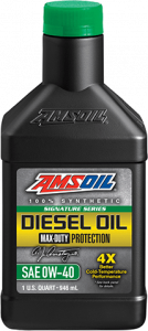 Signature Series Max-Duty Synthetic Diesel Oil 0W-40 DZF