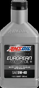 SAE 5W-40 FS Synthetic European Motor Oil EFM