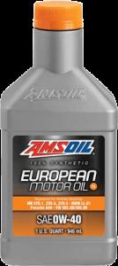 SAE 0W-40 FS Synthetic European Motor Oil EFO