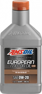Amsoil SAE 0W-20 LS-VW Synthetic European Motor Oil EZT