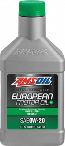 SAE 0W-20 LS Synthetic European Motor Oil AFE