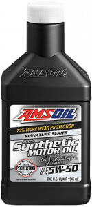 Signature Series 5W-50 Synthetic Motor Oil AMR