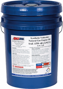 Synthetic Vehicular Natural Gas Engine Oil ANGV
