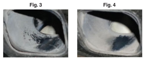 Oil Residue Before and After Engine Break-in