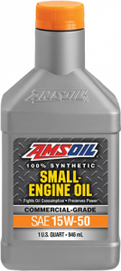 Amsoil 15W-50 Synthetic Small Engine Oil SEF
