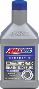 Amsoil OE Fuel-Efficient Synthetic Automatic Transmission Fluid OTL