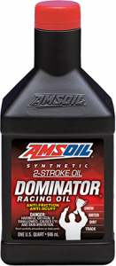 Amsoil DOMINATOR® Synthetic 2-Stroke Racing Oil TDR